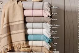 DURU Somon (светло-розовый) Полотенце пляжное