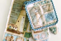 """Кухонное полотенце """"Старый маяк"""""""