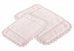 LORINDA Pembe (розовый) Коврик для ванной