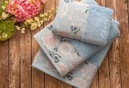 MABELLA Mavi (голубой) полотенце банное