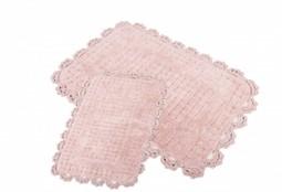 MINA Pink (розовый) Коврик для ванной
